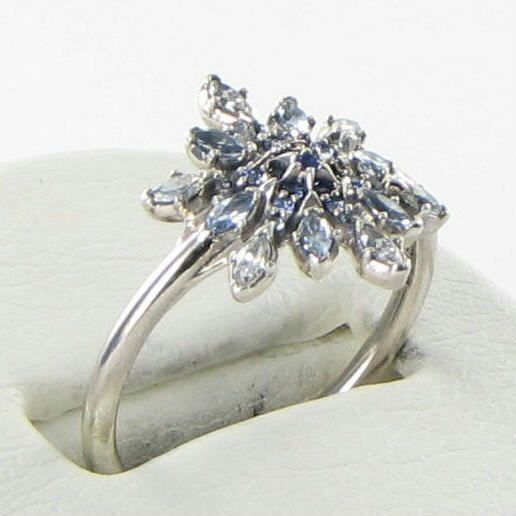 ee58c29fe Pandora 190969NBLMX Ring Sz 6.75 54 Crystallized Snowflake Crystal CZ 925  NEW For Sale - Item #1704286