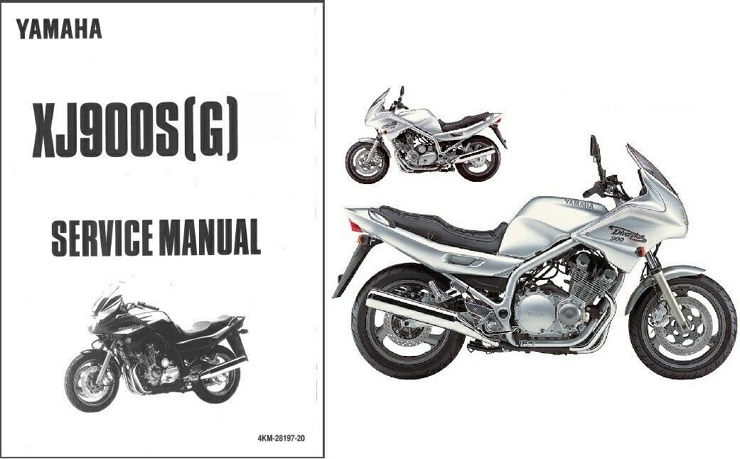 94 04 yamaha xj900s diversion service repair manual cd xj 900 s rh unisquare com yamaha xj 900 diversion service manual pdf 1982 Yamaha Seca 750