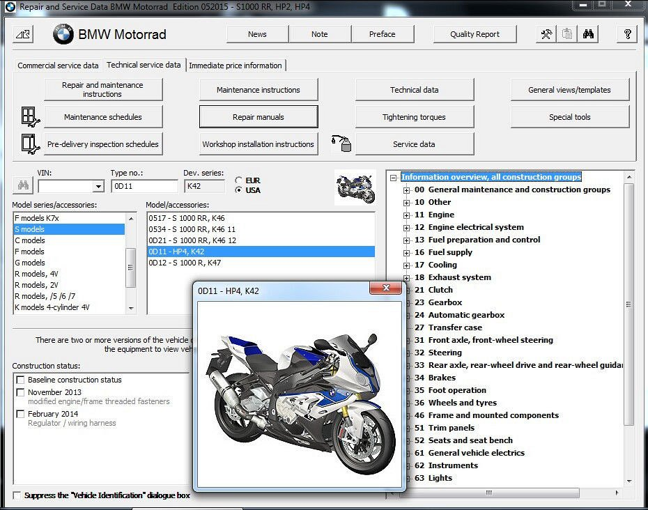 bmw hp4 motorcycle reprom service manual on a dvd s1000rr for rh unisquare com 2007 BMW M3 Mini Cooper