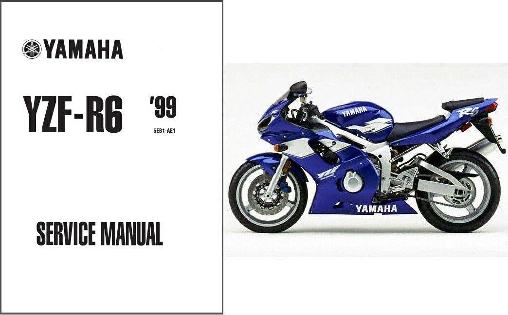 1999 2002 yamaha yzf r6 service repair workshop manual cd yzfr6 rh unisquare com 2002 yamaha r6 repair manual download