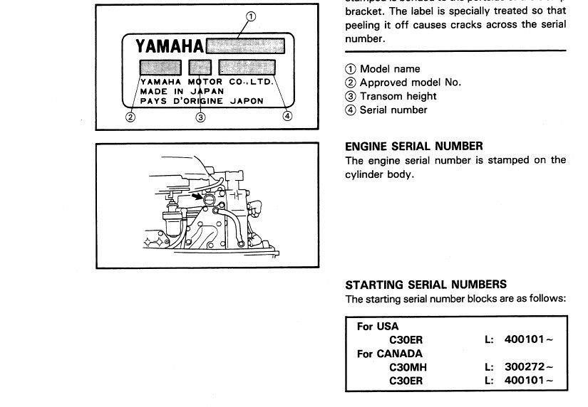 1994 yamaha c30 hp outboard service repair manual