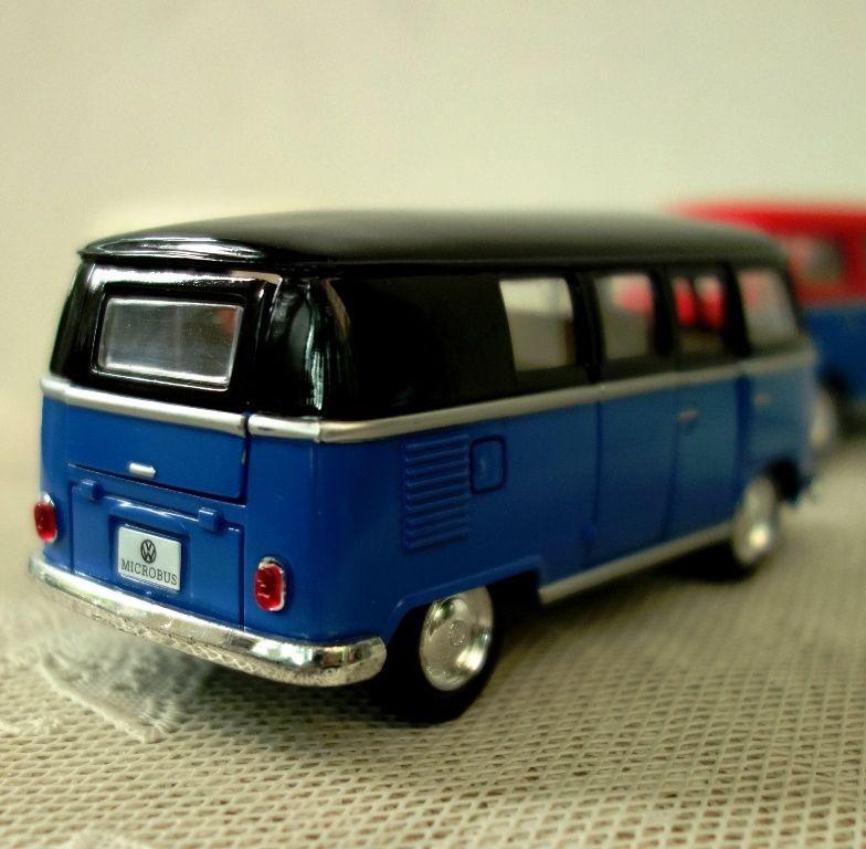 Volkswagen Paint Classic Bus 1962 Kinsmart Diecast Model