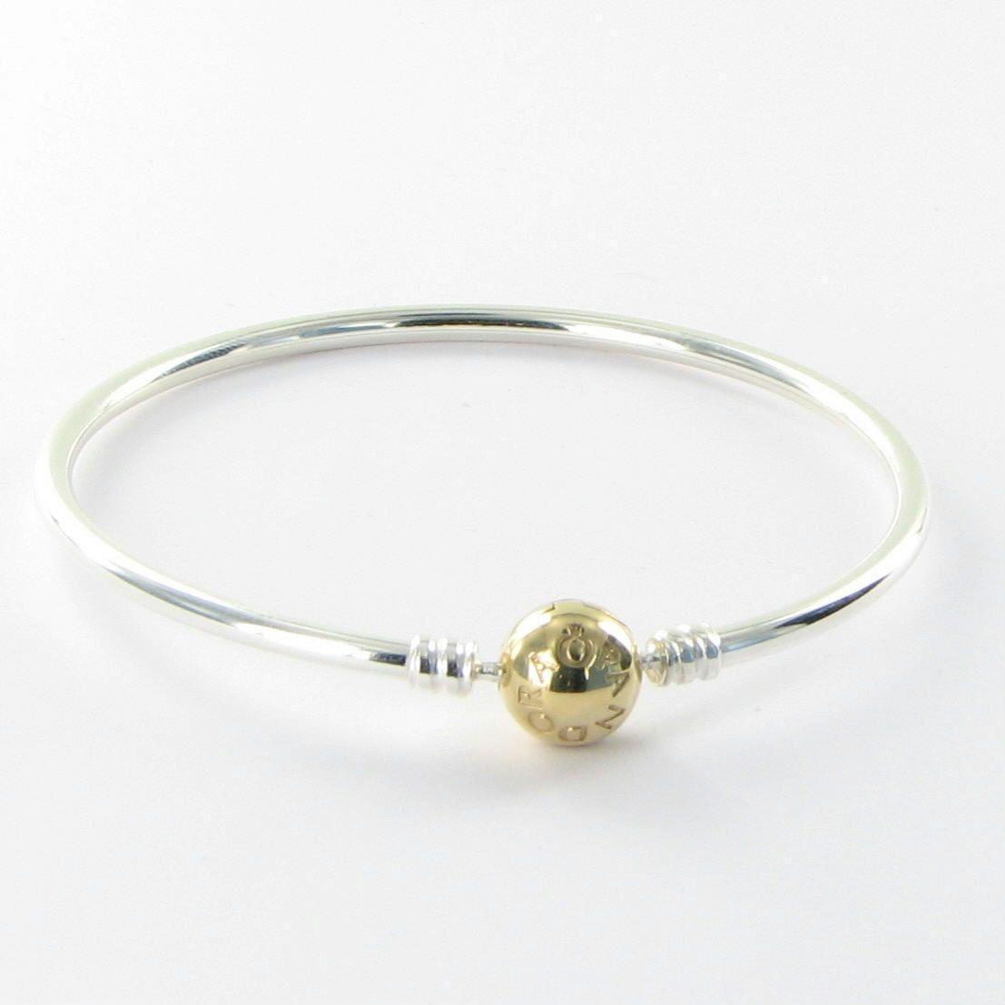 Pandora 590718 19cm Sterling Silver Bangle Bracelet 14k. Sea Glass Pendant. Vintage Cartier Brooch. Genuine Jade Bracelet. Big Wedding Rings. Indian Bangle Bracelets. Amora Gem Engagement Rings. Unique Wedding Rings. Elastic Anklet