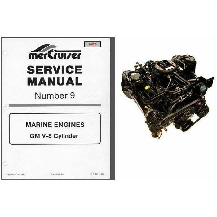 85 88 mercruiser 9 gm v 8 service repair manual cd mcm 200 230 rh unisquare com 255 Mercruiser 2 30 Mercruiser Tune Up Kit