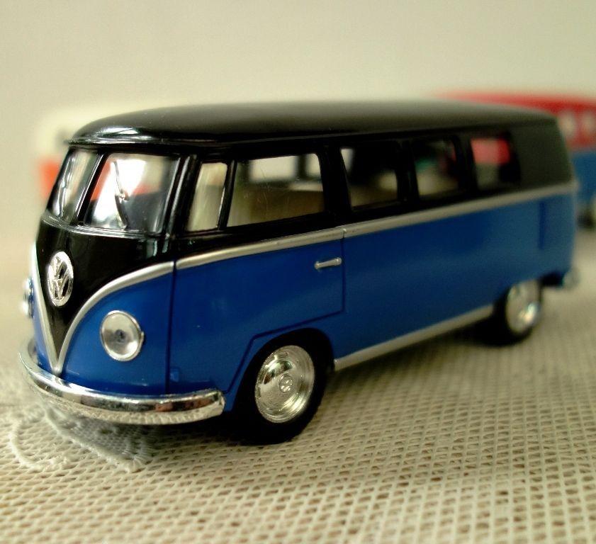 Volkswagen Paint Classic Bus 1962 Kinsmart Diecast model Car 1/32,free  shipping