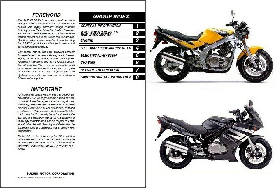 1989 2009 suzuki gs500e gs500f gs500 service manual on a cd for rh unisquare com 2009 suzuki gs500f manual 2009 suzuki gs500 manual