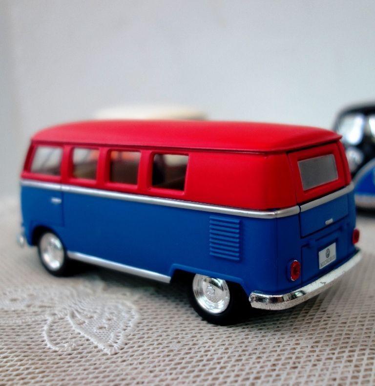 Volkswagen Paint Classic Bus Kinsmart 1/32 1962 Diecast