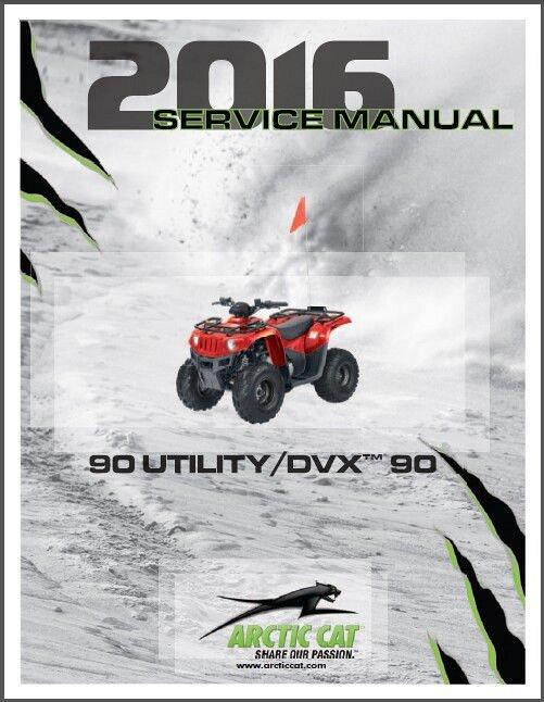 2016 arctic cat utility 90 dvx 90 service repair workshop manual rh unisquare com 2004 arctic cat 90 service manual arctic cat 90 service manual