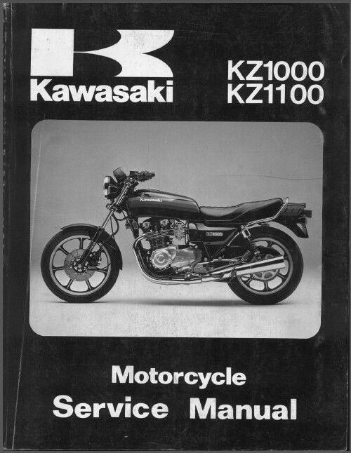 81 83 kawasaki kz1000 kz1100 service repair manual cd kz 1000 1100 rh unisquare com kz1000 service manual kz1000 service manual pdf