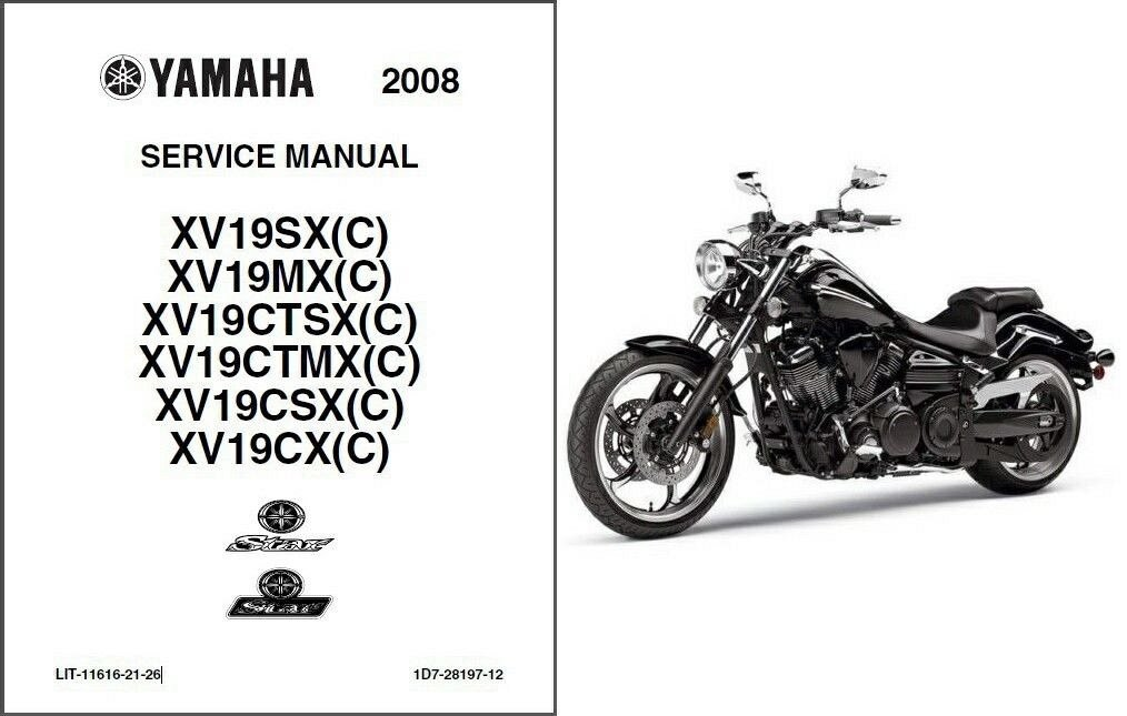 yamaha xv19 raider star roadliner service repair manual cd xv 19 rh unisquare com yamaha raider shop manual yamaha raider maintenance manual