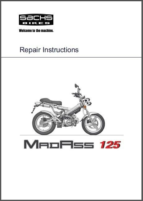 Sachs Madass Service Owners Manual Cd Tomberlin Xkeleton