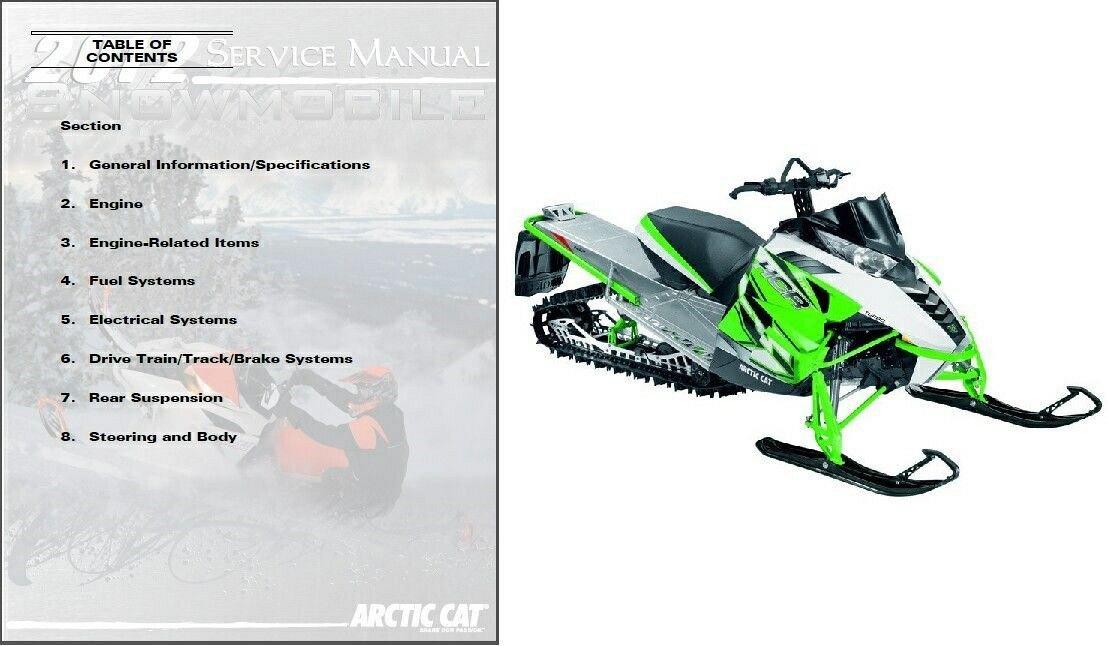 download arctic cat 2007 2 stroke panther bearcat crossfire m f series snowmobile service repair workshop manual