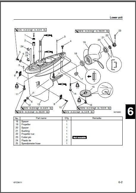 yamaha outboard f30 service manual