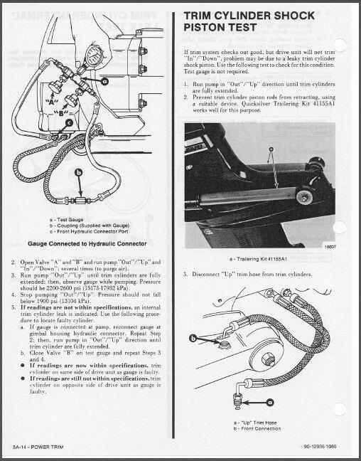 1978 1993 mercruiser 5 tr trs stern drive units sterndrive rh unisquare com Sterndrive Boat Mercruiser Sterndrive Parts Diagram