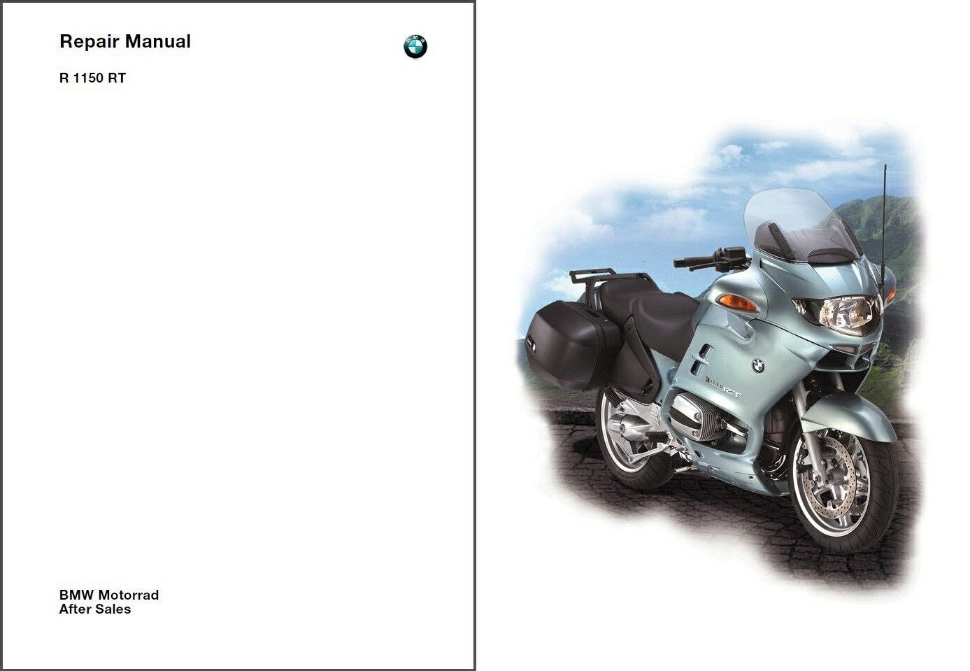 2001-2002-2003-2004 BMW R1150RT Service Manual CD - Multilingual