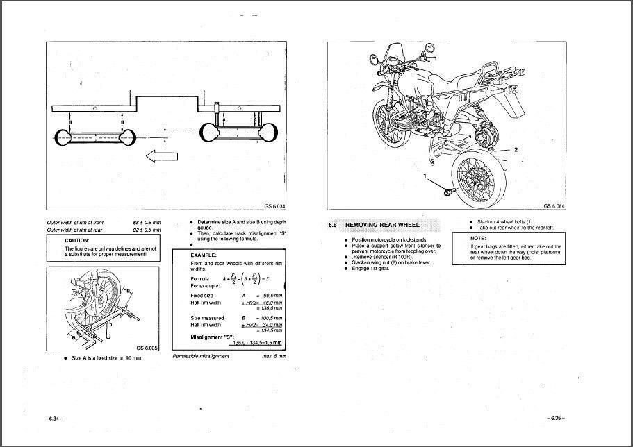 1980-1996 BMW R 80 GS / R 100 R Service Manual on a CD
