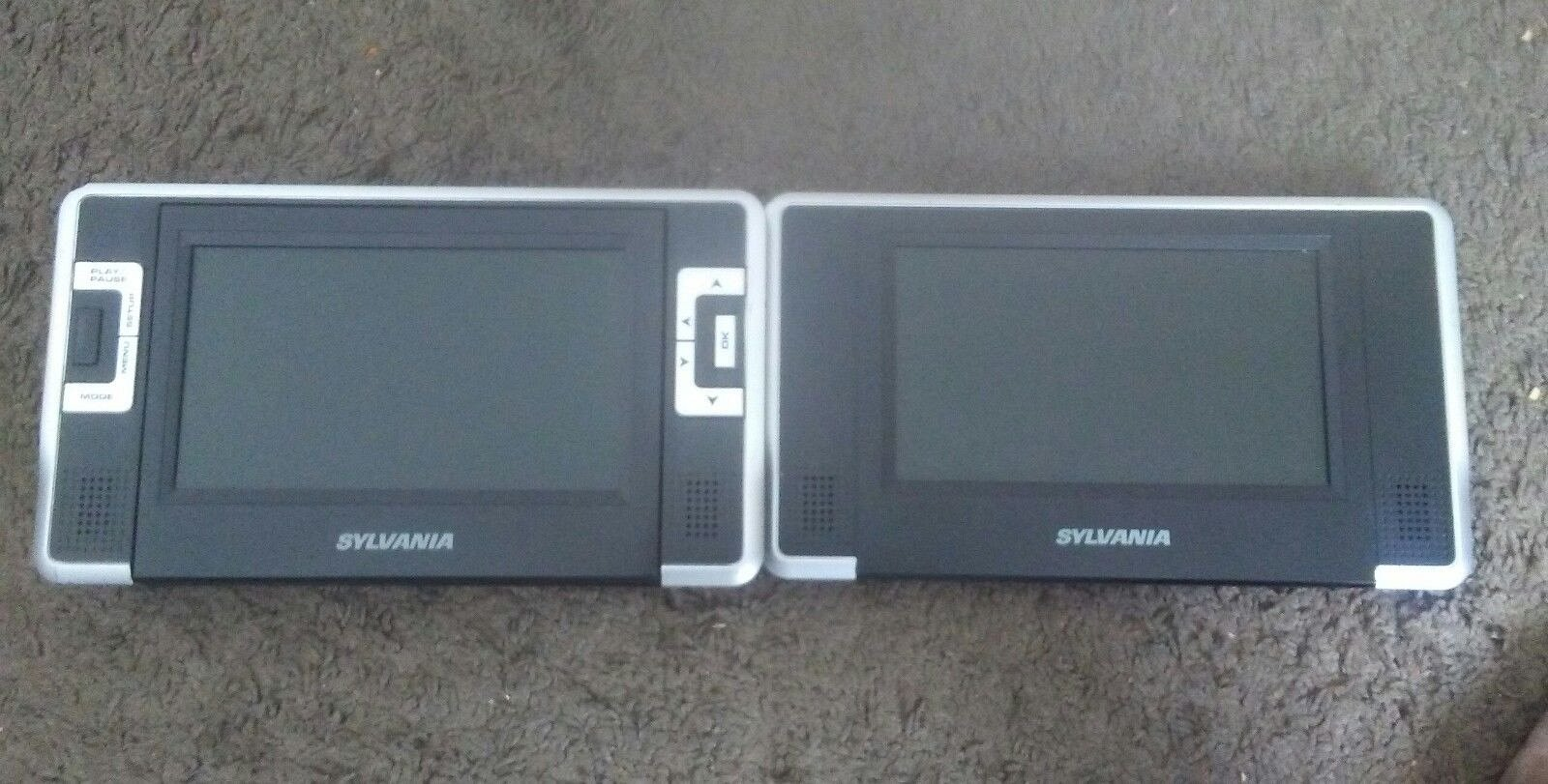 sylvania sdvd8732 7 inch dual screen portable dvd player for sale rh unisquare com Instruction Manual Book Owner's Manual