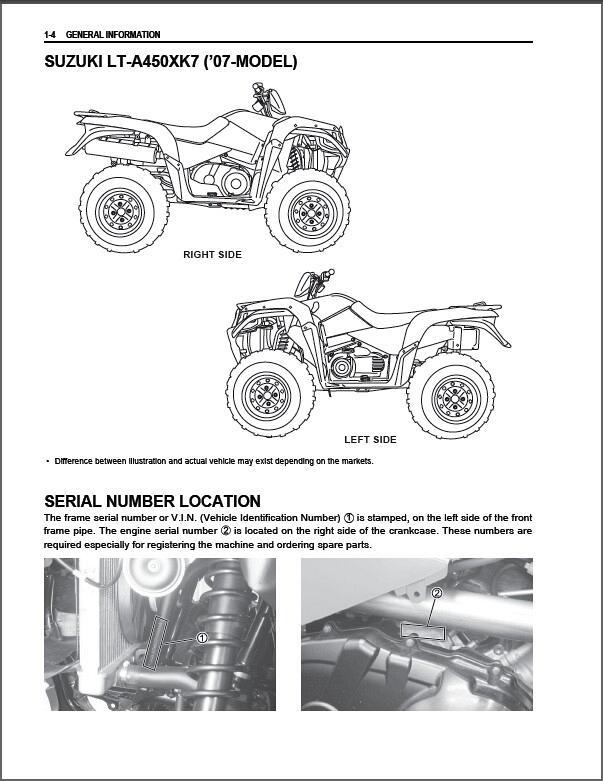 Bestseller  Suzuki King Quad 450 Owners Manual