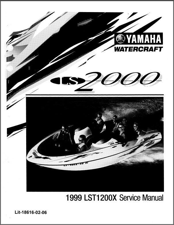 yamaha ls2000 jet boat sport boat service manual cd lst1200 rh unisquare com Yamaha LS2000 Jet Boat Parts Yamaha Jet Boats Steering