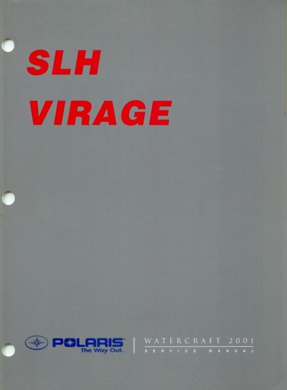 2001 polaris slh virage personal watercraft pwc service manual rh unisquare com 2001 polaris virage tx service manual 2001 polaris virage tx owner's manual