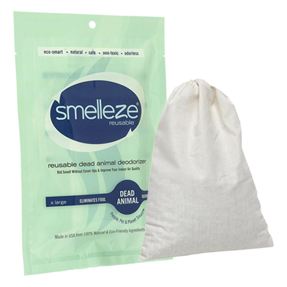 SMELLEZE Reusable Dead Animal Smell Eliminator Deodorizer