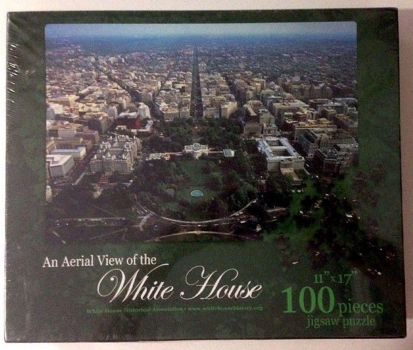 Incredible White House Jigsaw Puzzle Aerial View 100 Piece 11 X 17 Washington Dc New Download Free Architecture Designs Scobabritishbridgeorg