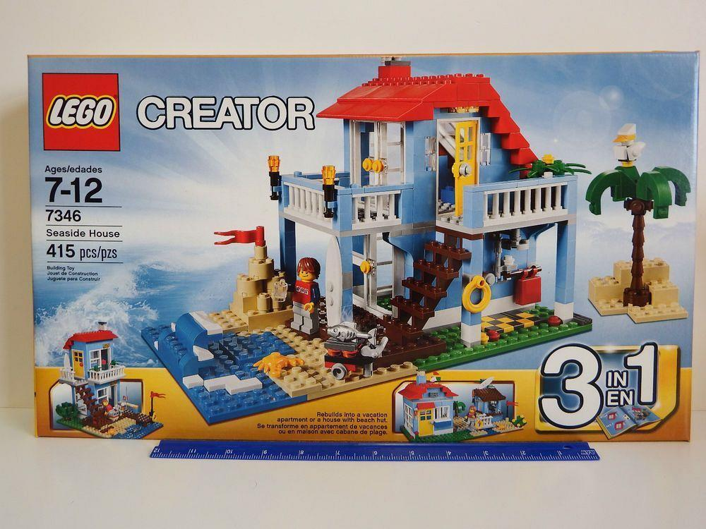 Lego Creator 3 In 1 Seaside House 7346 Complete W Instructions