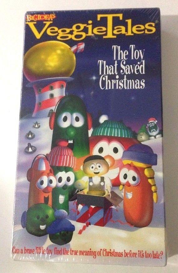veggie tales the toy that saved christmas vhs tape christian holiday cartoon new - The Toy That Saved Christmas