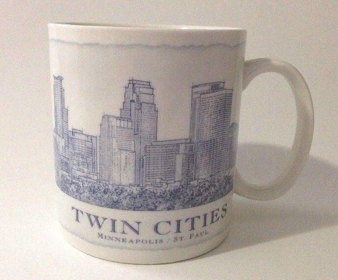 Starbucks Minneapolis Architecture Twin 18 St Mug Cities Oz Coffee Paul Series YIW9EH2D