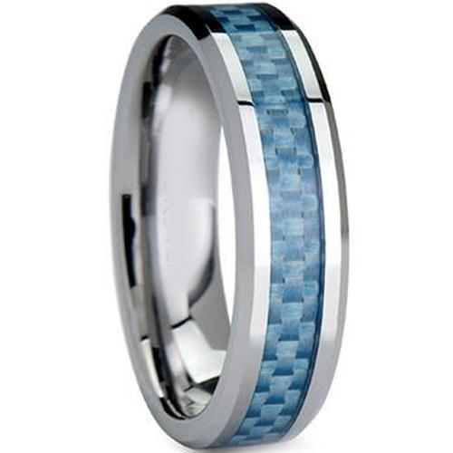 Carbon Fiber Diamontrigue Jewelry: Coi Jewelry Titanium Wedding Band Ring With Carbon Fiber